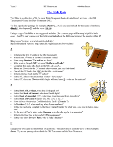 The Bible Quiz