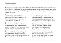 The Ten Lepers