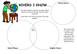 RIVERS I KNOW... World Rivers