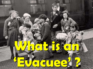 What is an 'Evacuee' ?