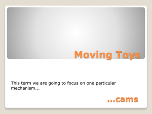 Moving Toys ...cams mechanism...