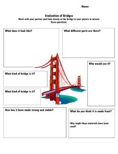 Evaluation of Bridges