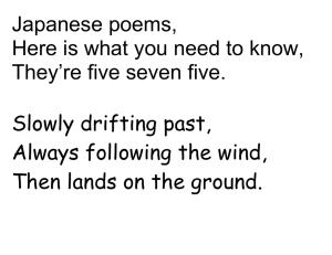 Japanese poems, Here is what you need to know,