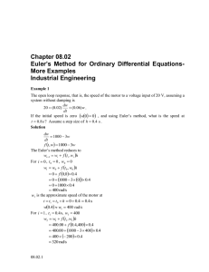 Chapter 08.02 More Examples Industrial Engineering
