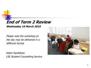 End of Term 2 Review Wednesday 16 March 2016