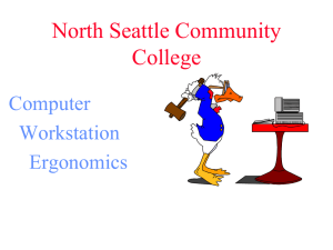 North Seattle Community College Computer Workstation