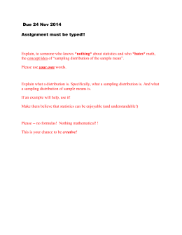 Due 24 Nov 2014 Assignment must be typed!!