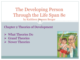 The Developing Person Through the Life Span 8e 