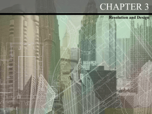 CHAPTER 3 Resolution and Design