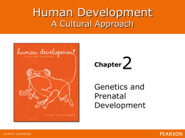 2 Human Development A Cultural Approach Genetics and