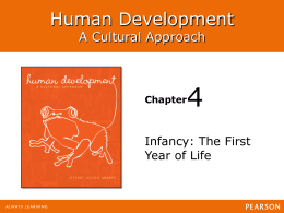 4 Human Development A Cultural Approach Infancy: The First