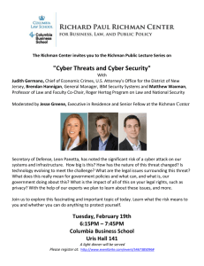 """Cyber Threats and Cyber Security"""