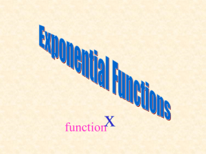 x function