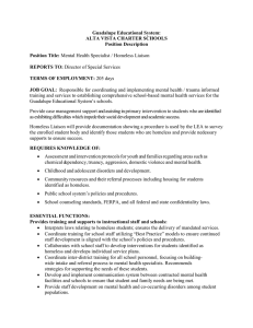 Guadalupe Educational System: ALTA VISTA CHARTER SCHOOLS Position Description