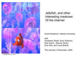 Jellyfish, and other Interesting creatures Of the Internet