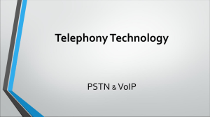 Telephony Technology PSTN VoIP &