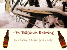 new belgium brewing company swot analysis