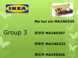 Group 3 Ma hui xin MA2N0245 黃琤琁 MA260207 廖康彬 MA1N0232
