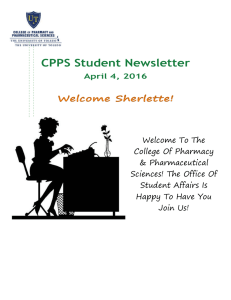 CPPS Student Newsletter