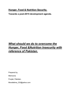 What should we do to overcome the reference of Pakistan.