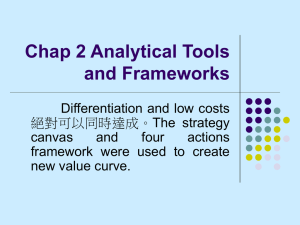Chap 2 Analytical Tools and Frameworks