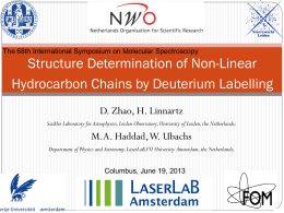 Structure Determination of Non-Linear Hydrocarbon Chains by Deuterium Labelling