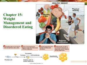Chapter 15: Weight Management and Disordered Eating