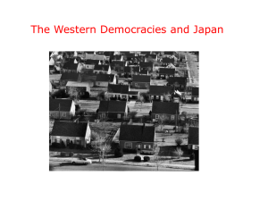 The Western Democracies and Japan