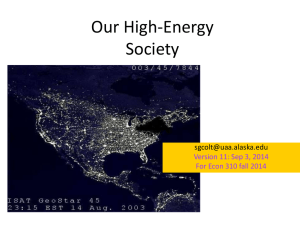 Our High-Energy Society  Version 11: Sep 3, 2014
