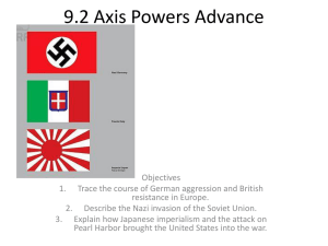9.2 Axis Powers Advance