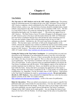 Communications Chapter 4