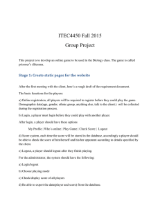 ITEC4450 Fall 2015 Group Project