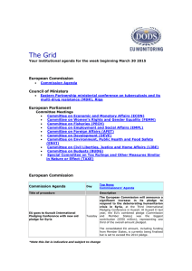 The Grid  European Commission Council of Ministers