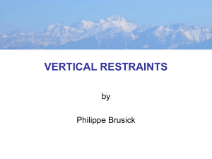 VERTICAL RESTRAINTS by Philippe Brusick
