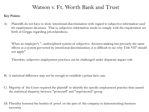 Watson v. Ft. Worth Bank and Trust
