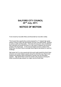 NOTICE OF MOTION  SALFORD CITY COUNCIL 20