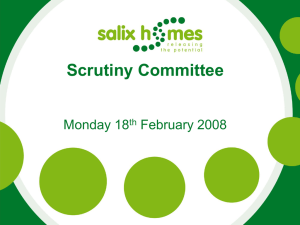 Scrutiny Committee Monday 18 February 2008 th