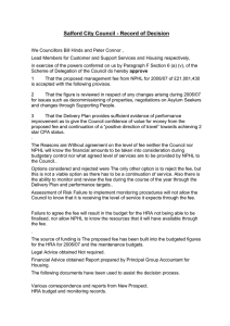 Salford City Council - Record of Decision