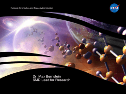 Dr. Max Bernstein SMD Lead for Research