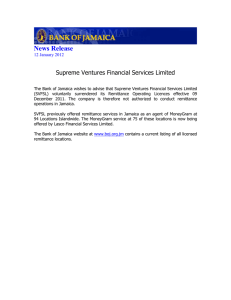 News Release Supreme Ventures Financial Services Limited  12 January 2012