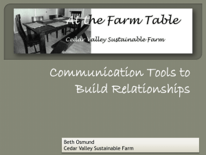 Communication Tools to Build Relationships