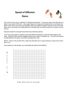 Speed of Diffusion Demo