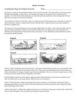 Ecological Succession Worksheet Key Free Worksheets Library ...
