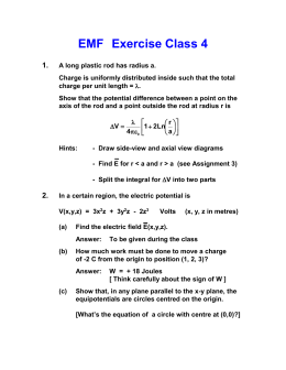 EMF   Exercise Class 4 1.