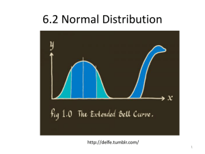 6.2 Normal Distribution  1