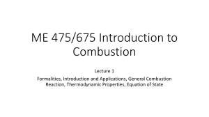 ME 475/675 Introduction to Combustion