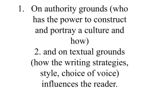 1. On authority grounds (who has the power to construct how)