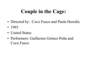 Couple in the Cage: