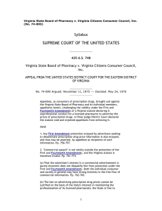 SUPREME COURT OF THE UNITED STATES Syllabus Inc.