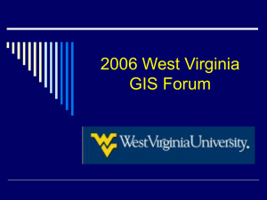 2006 West Virginia GIS Forum